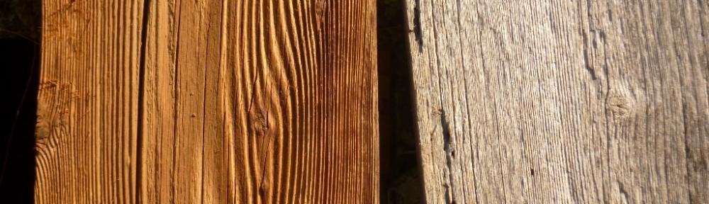 Möbel aus Altholz
