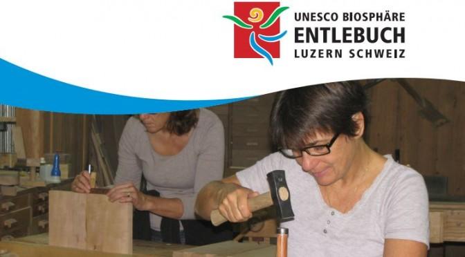 Schreinern mit Naturholz Kurs von Paul Bussmann