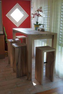 Tisch, Hocker